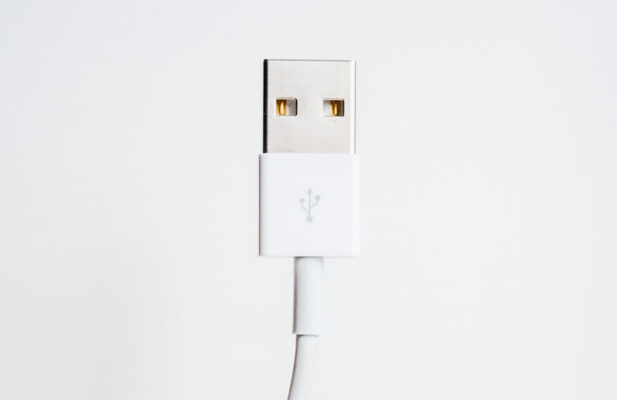USB端子の画像
