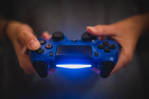 PS4純正コントローラーブルー