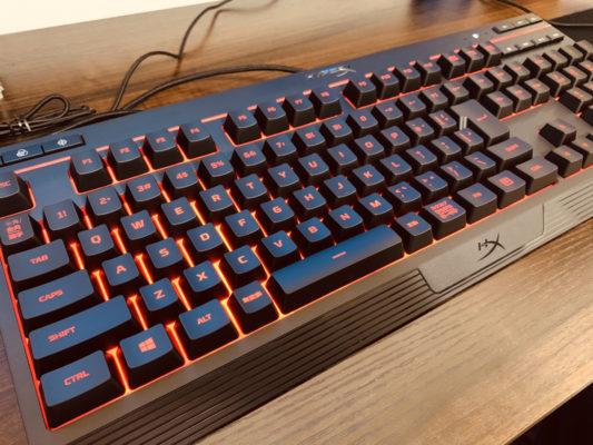 HyperXゲーミングキーボード