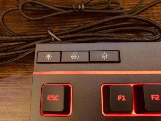 HyperX左上ボタン