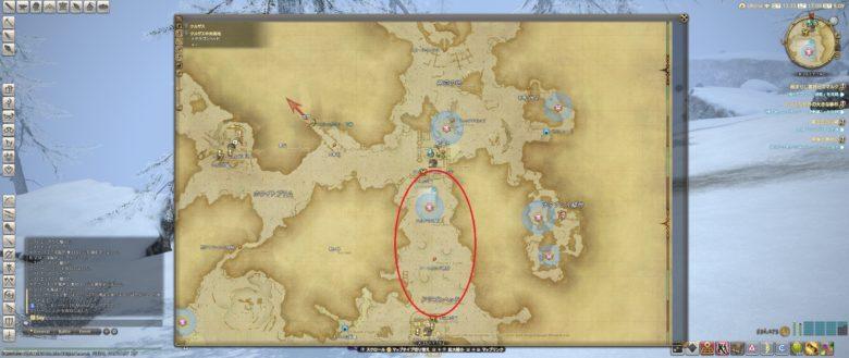 フリース入手場所MAP