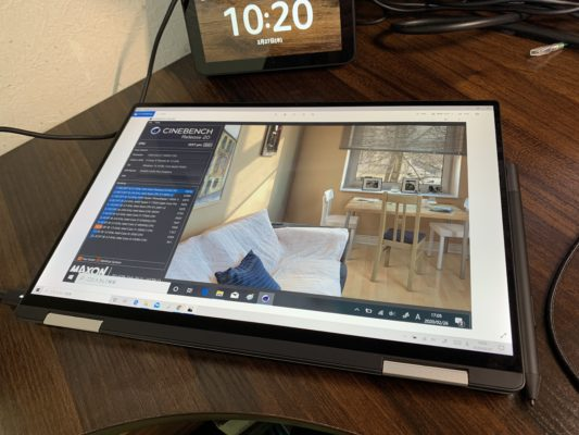 XPS13タブレットモード