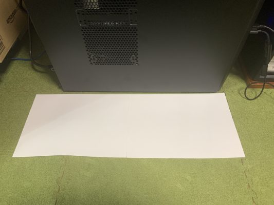 A4用紙2枚分