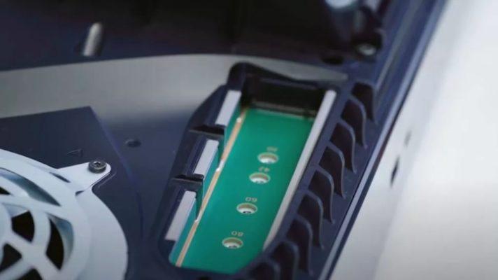 PS5内部ストレージ
