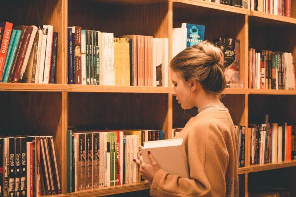 図書館の静かな環境