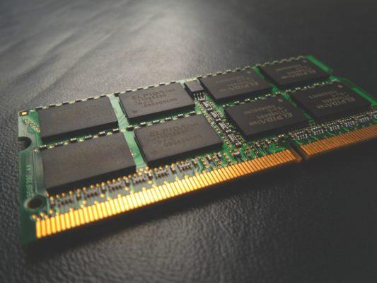 パソコンメモリ画像